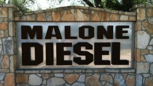Malone Diesel Sign
