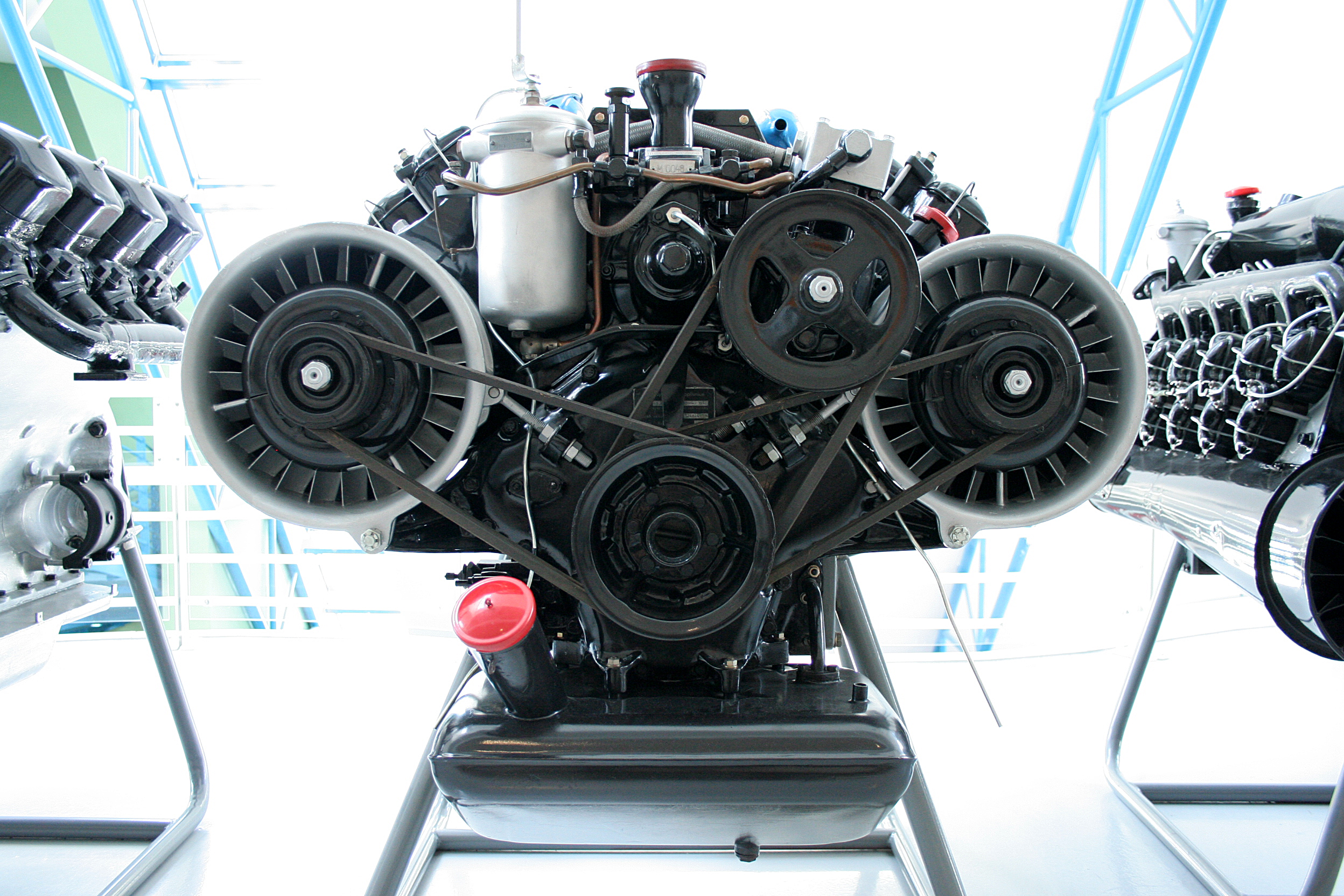 Large Diesel Engine