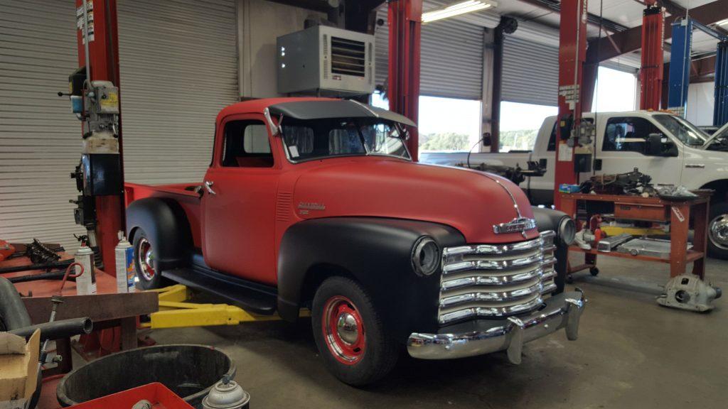 Retro diesel truck